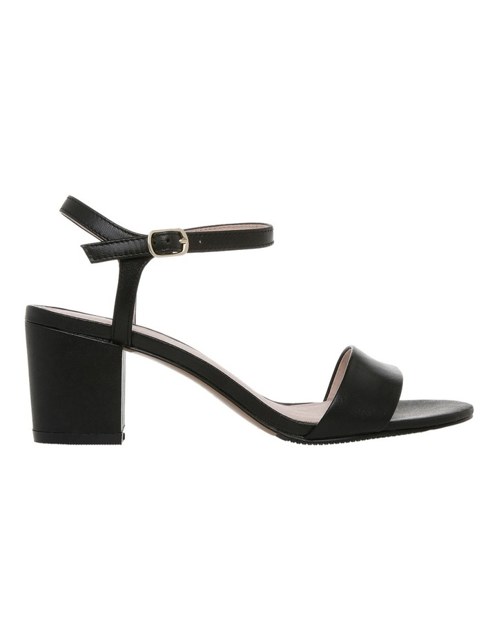 Romina Black Leather Sandal image 1