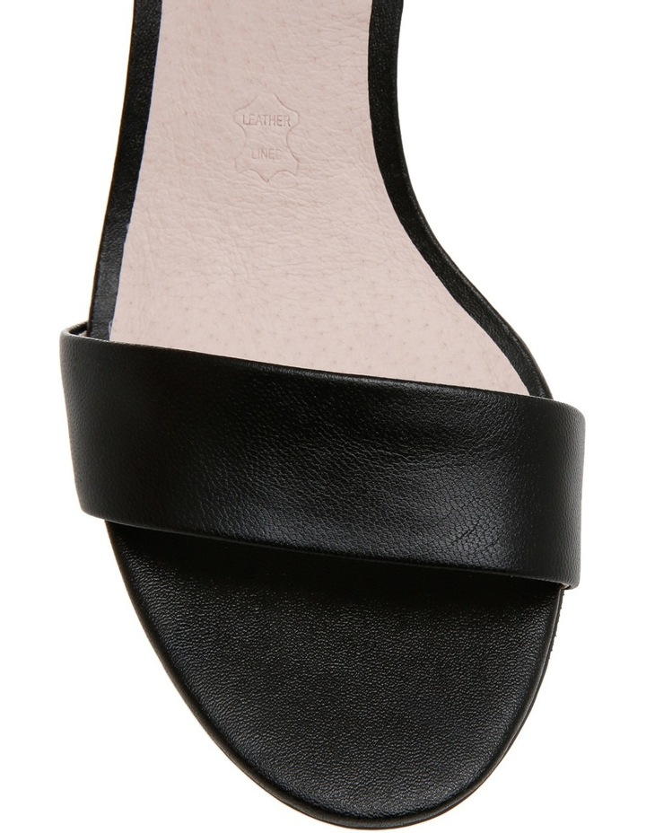 Romina Black Leather Sandal image 3