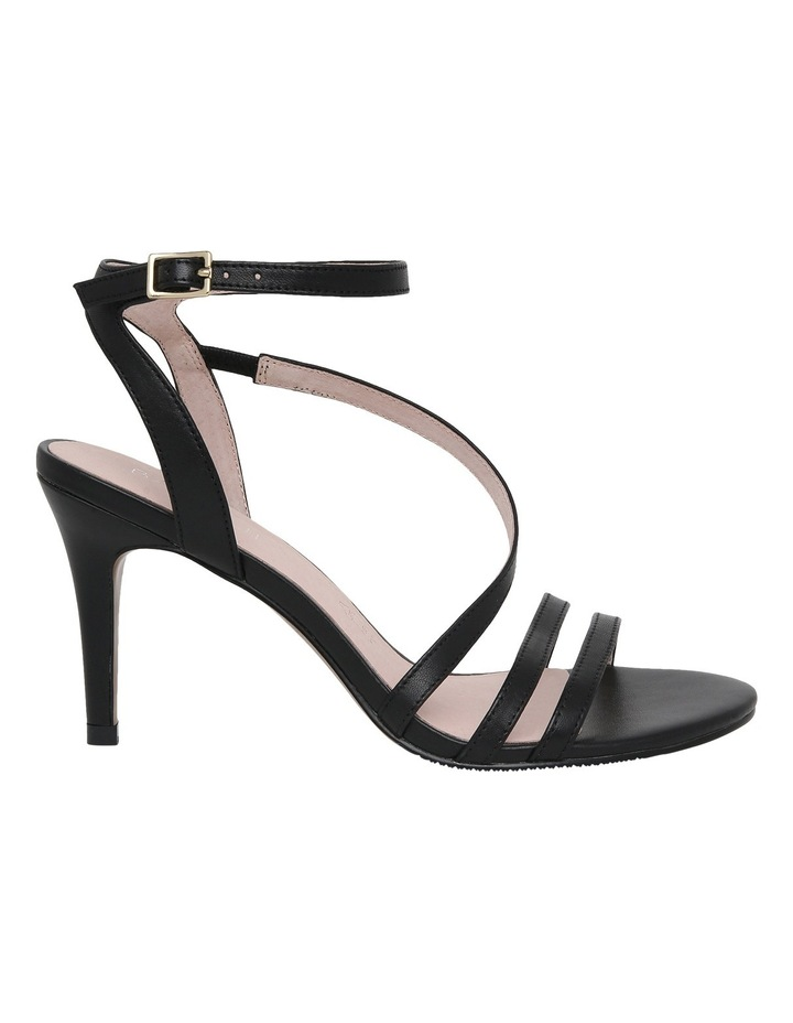 Filly Black Leather Sandal image 1