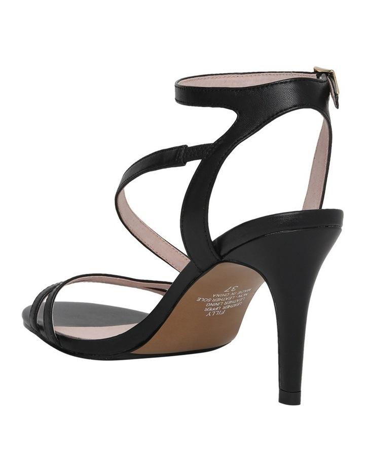 Filly Black Leather Sandal image 2