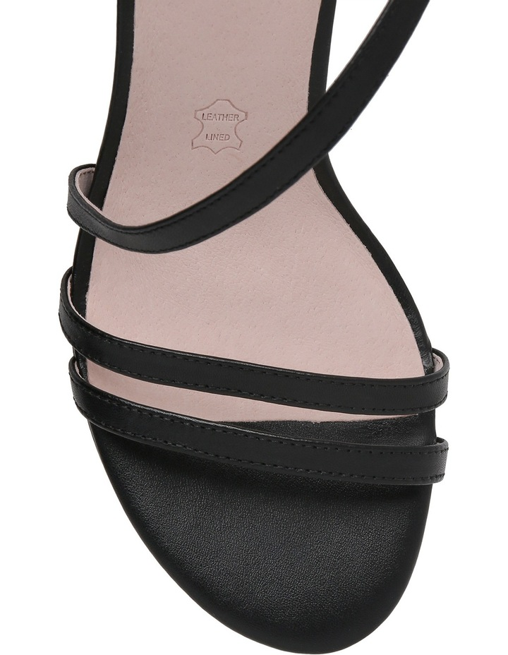 Filly Black Leather Sandal image 3