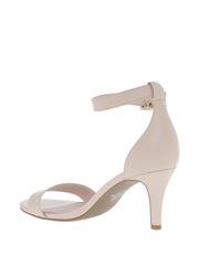 Basque - Portia Nude Leather Sandal