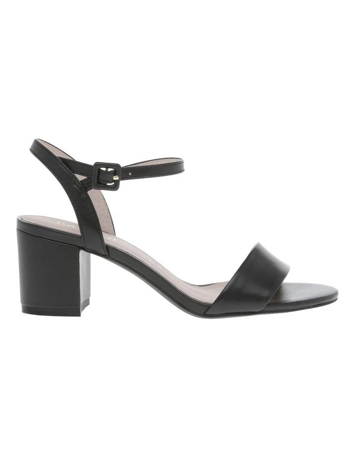 Roma Black Leather Sandal image 1