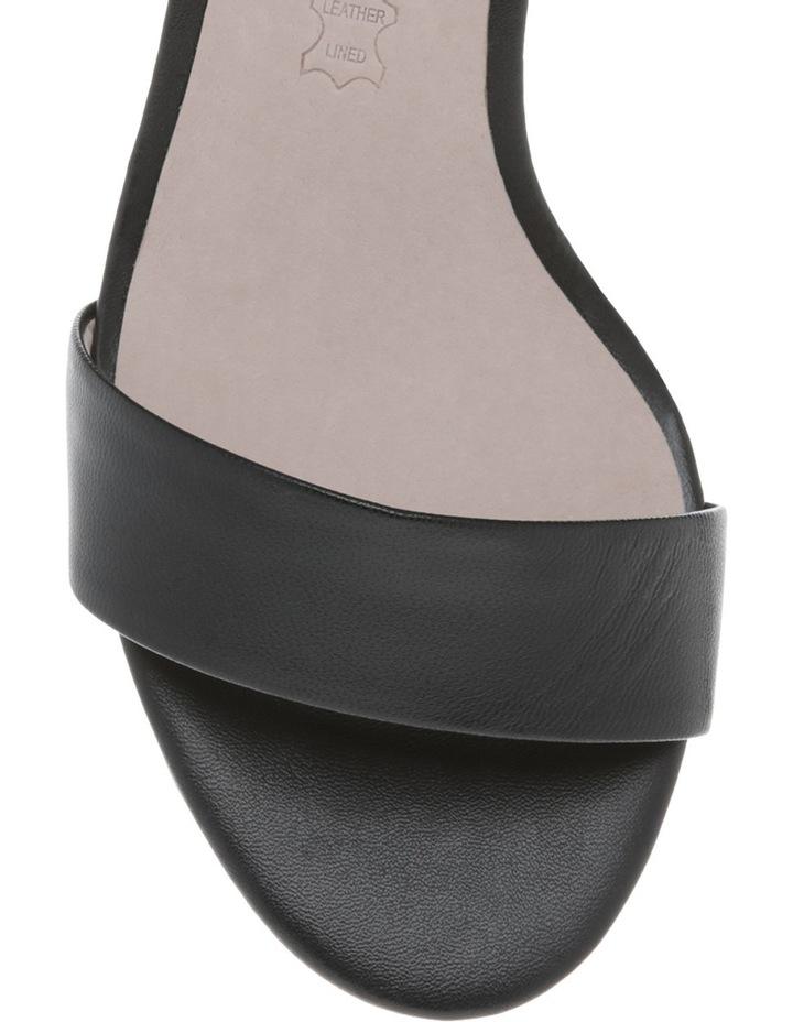 Roma Black Leather Sandal image 3