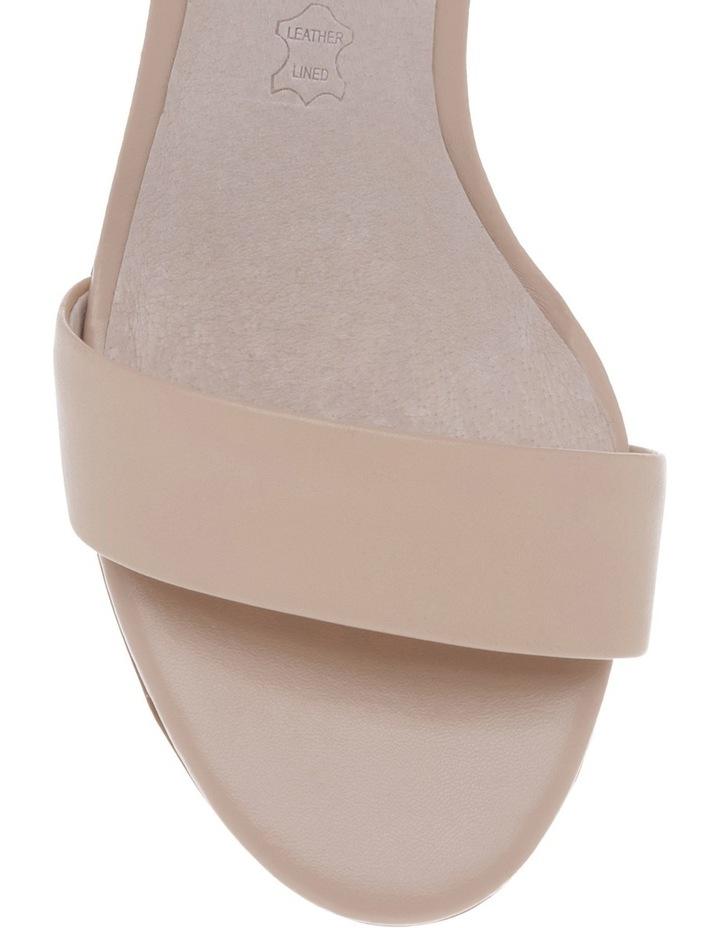 Roma Nude Leather Sandal image 3