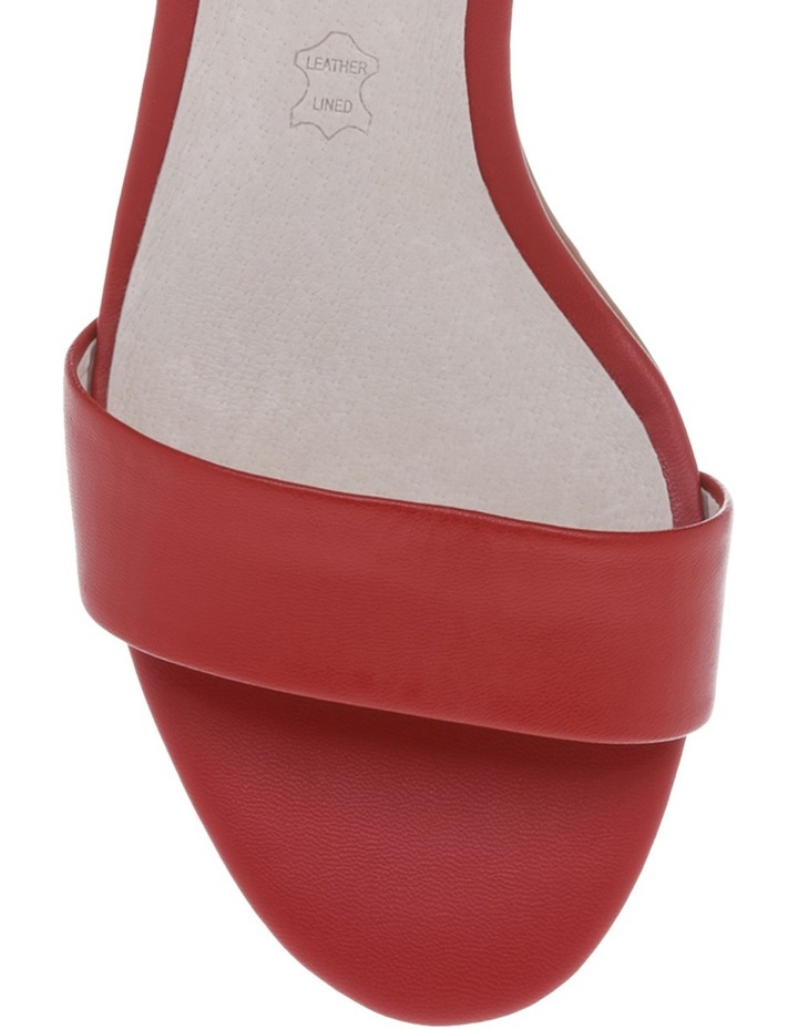 Roma Red Leather Sandal image 3