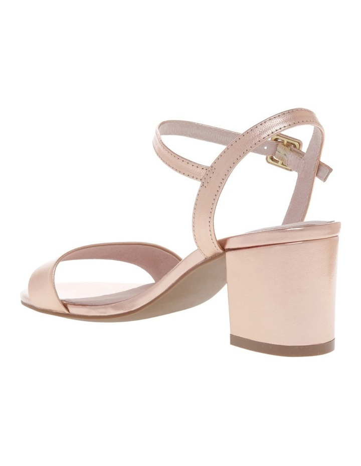 Roma Rose Gold Leather Sandal image 2
