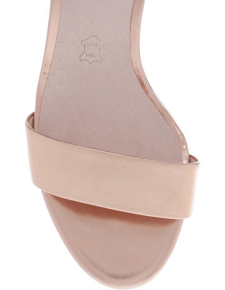 Roma Rose Gold Leather Sandal image 3