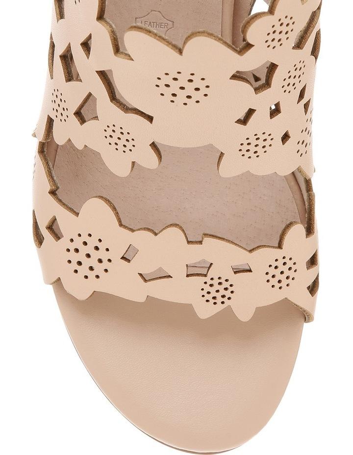 Fleur Nude Leather Sandal image 3