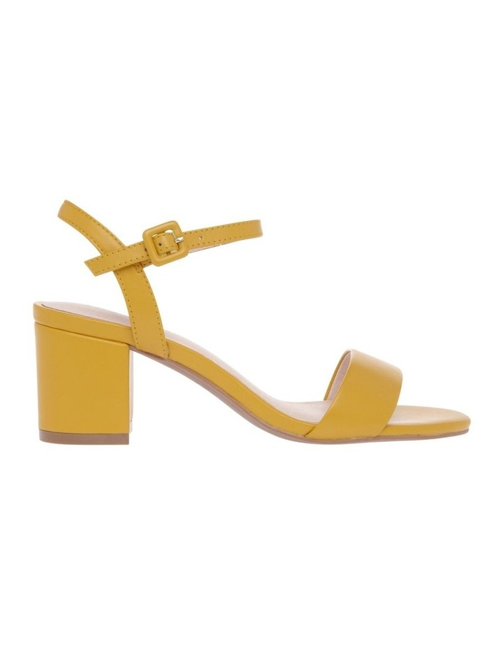 Roma Mustard Leather Sandal image 1