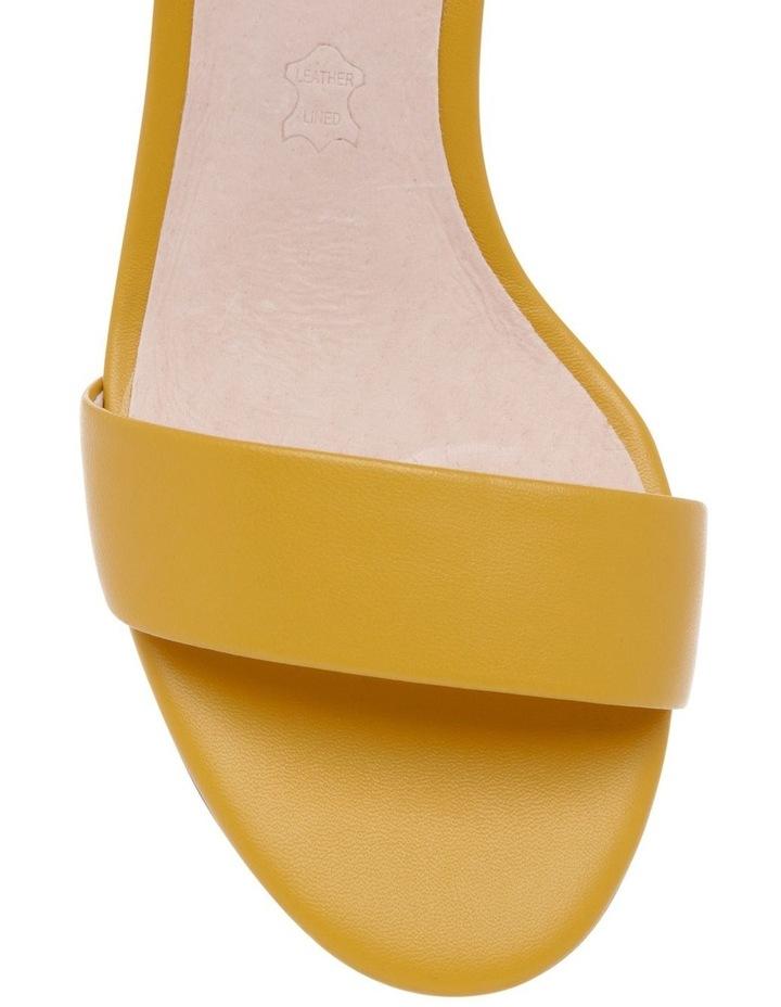 Roma Mustard Leather Sandal image 3