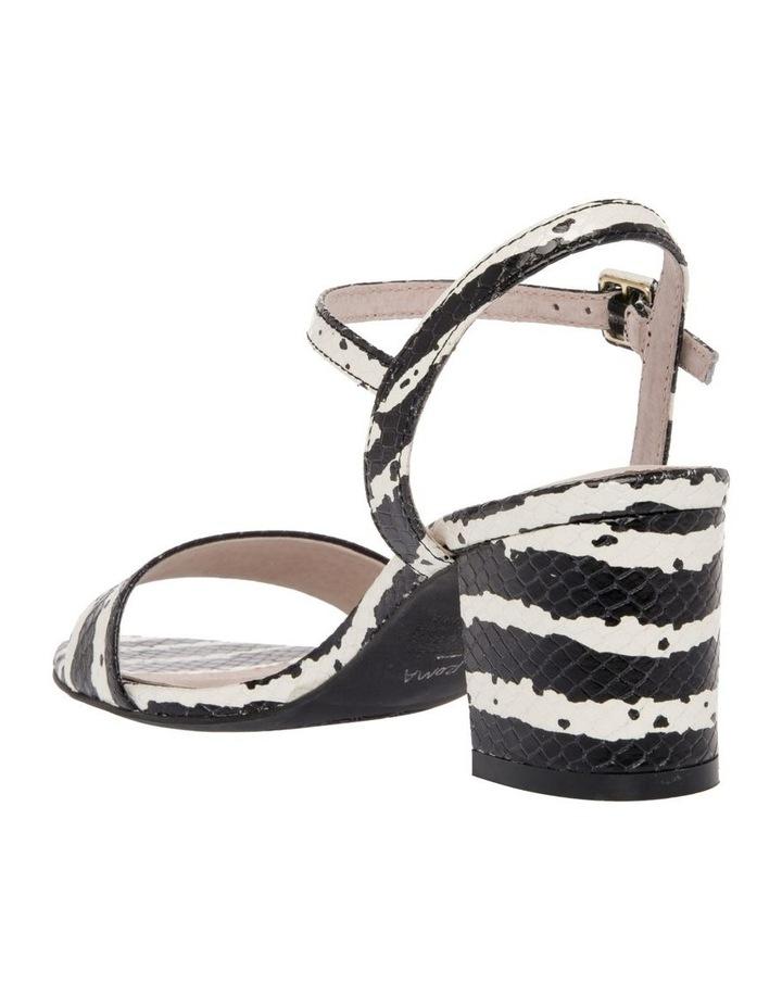 Roma Zebra Print Leather Sandal image 2