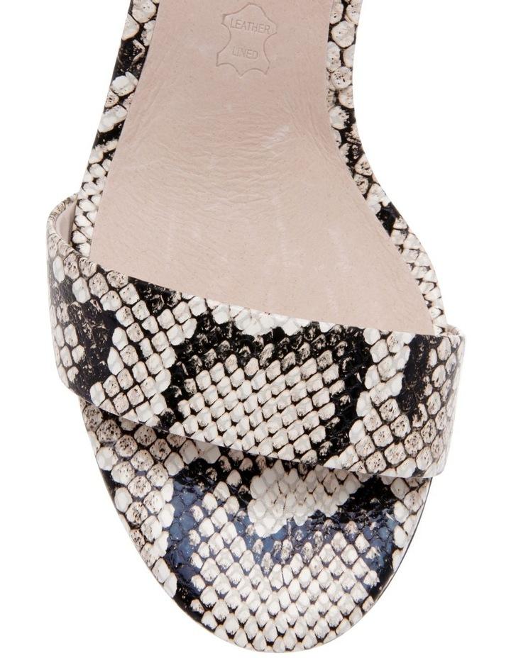 Roma Snake Print Leather Sandal image 3