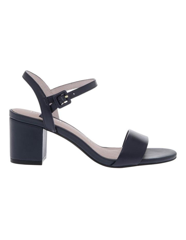 Roma Navy Leather Sandal image 1