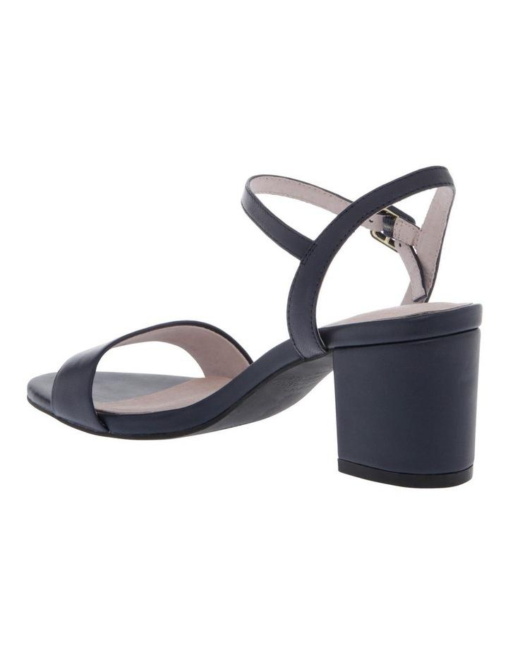 Roma Navy Leather Sandal image 2