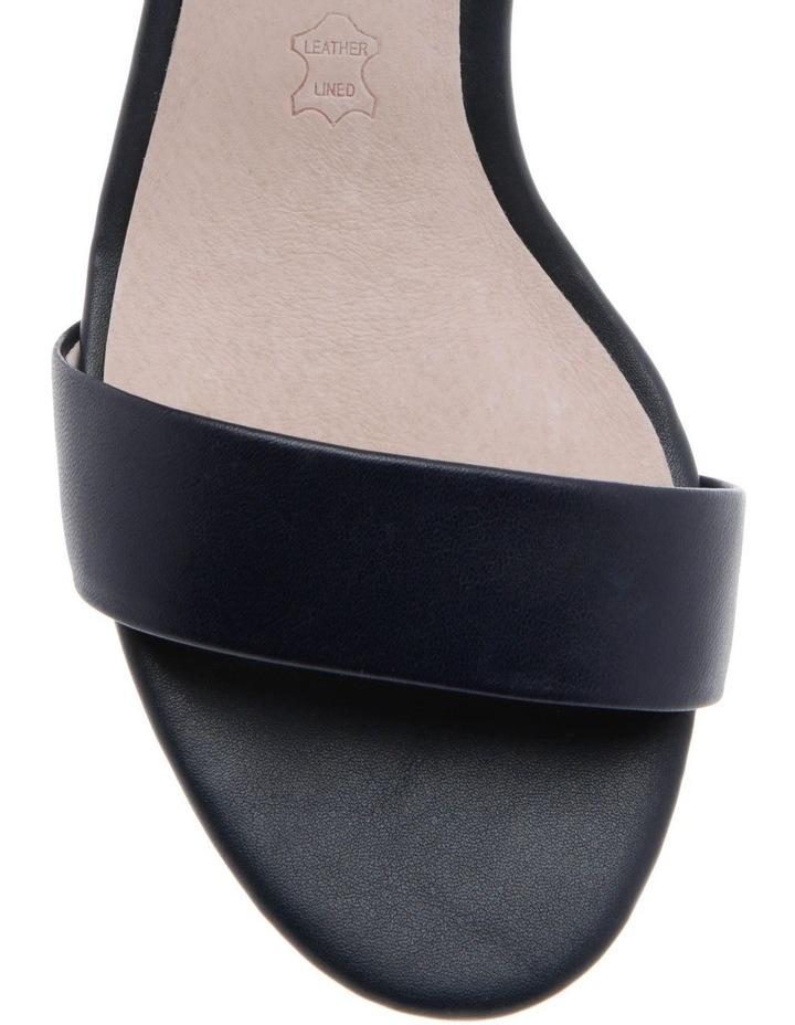 Roma Navy Leather Sandal image 3