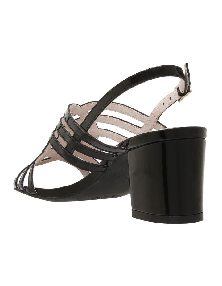 Rose Black Patent Sandal image 2