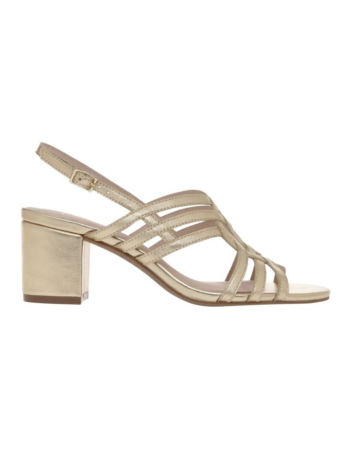 Rose Soft Gold Leather Sandal image 1