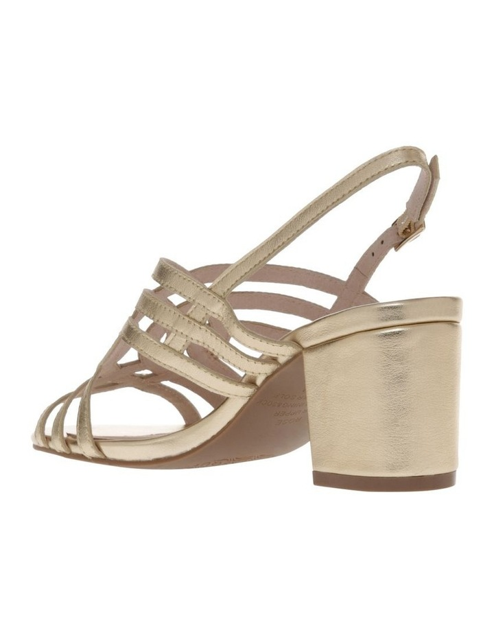 Rose Soft Gold Leather Sandal image 2
