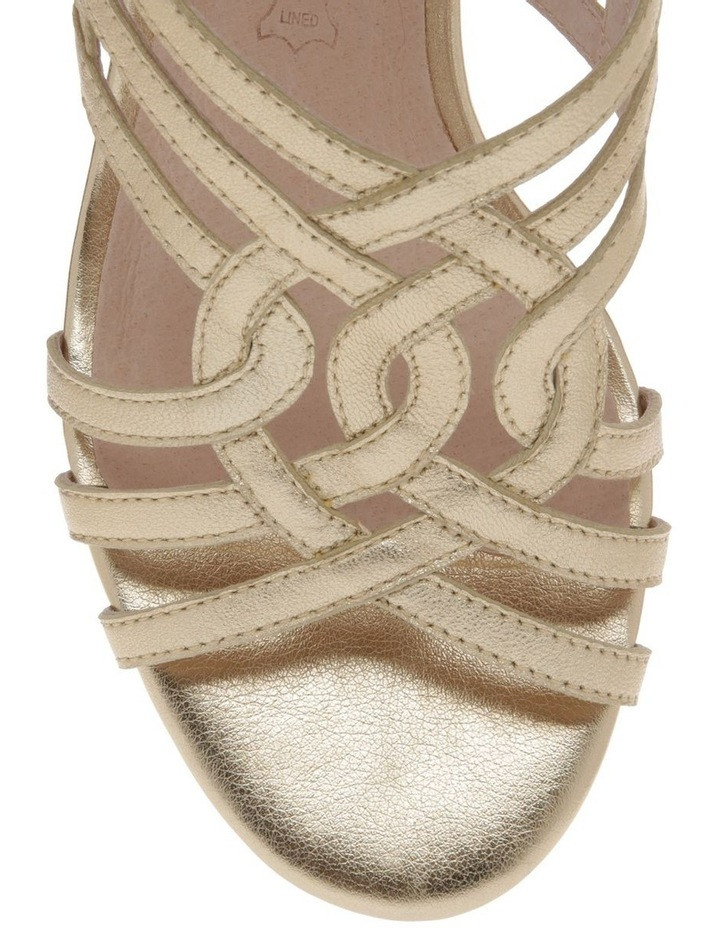 Rose Soft Gold Leather Sandal image 3