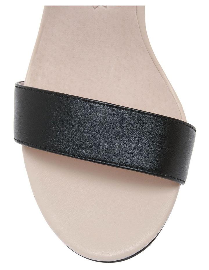 Victoria Nude & Black Leather Sandal image 3