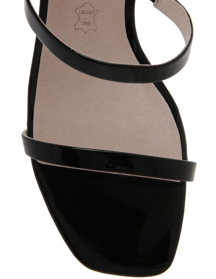 Olivia Black Patent Leather Sandal image 2