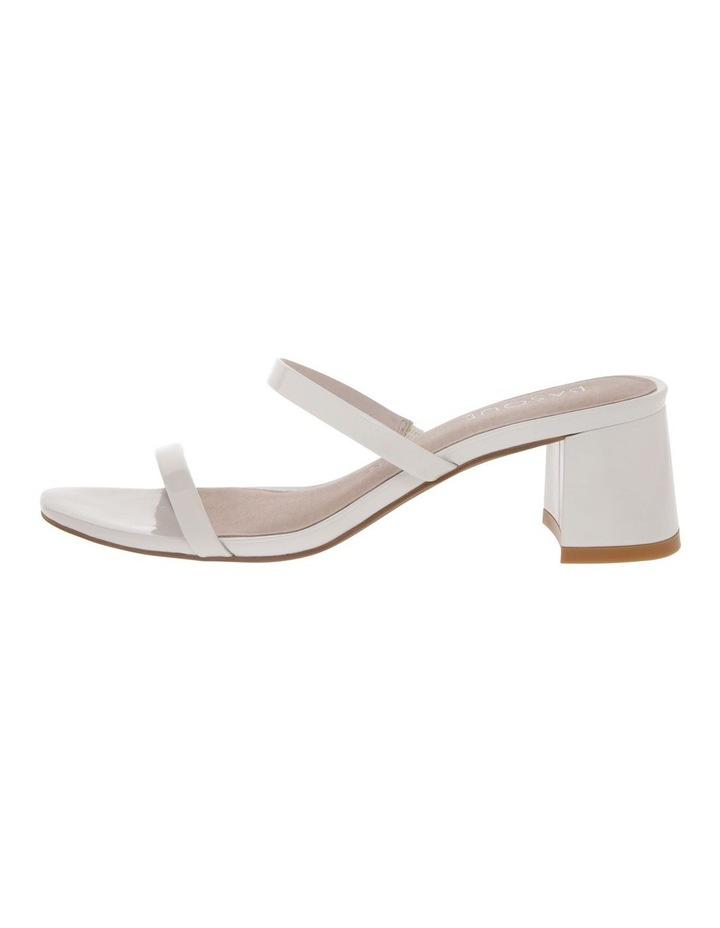 Olivia White Patent Leather Sandal image 1