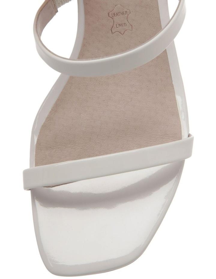 Olivia White Patent Leather Sandal image 2