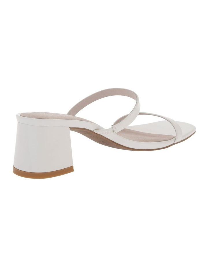 Olivia White Patent Leather Sandal image 3