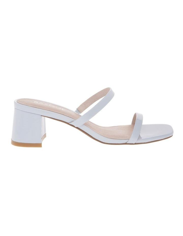 Olivia Blue Patent Leather Sandal image 1