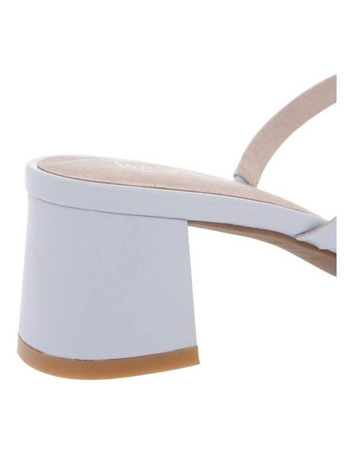 Olivia Blue Patent Leather Sandal image 4