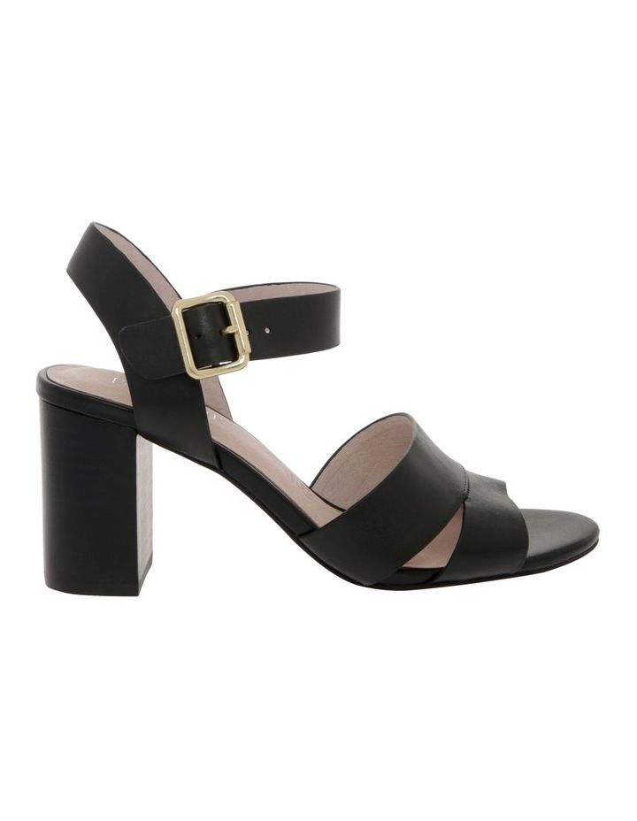 Ava Black Leather Sandal image 1