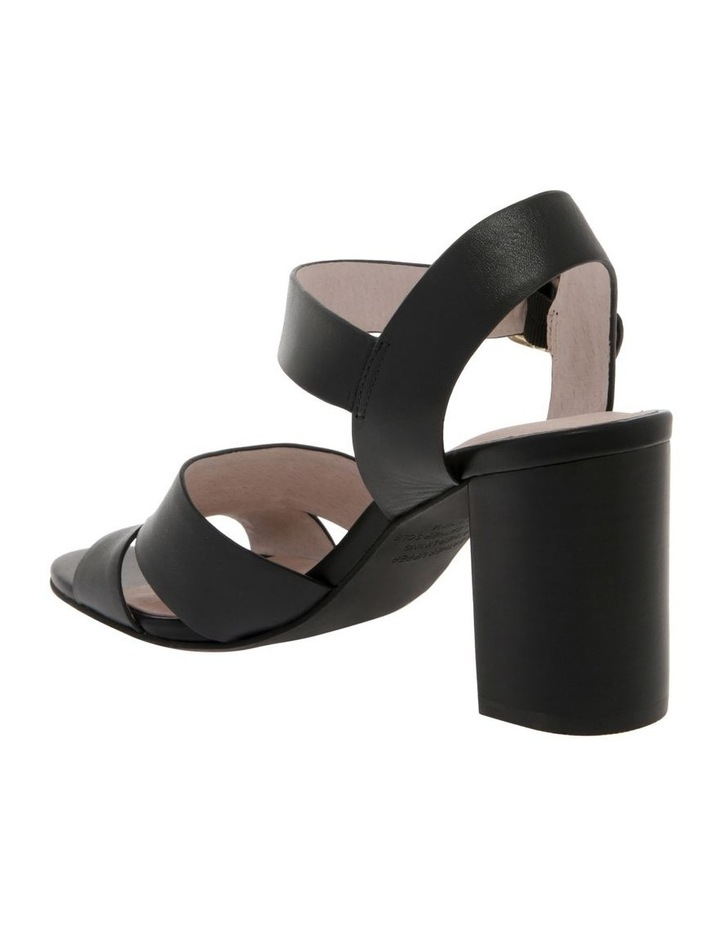 Ava Black Leather Sandal image 3