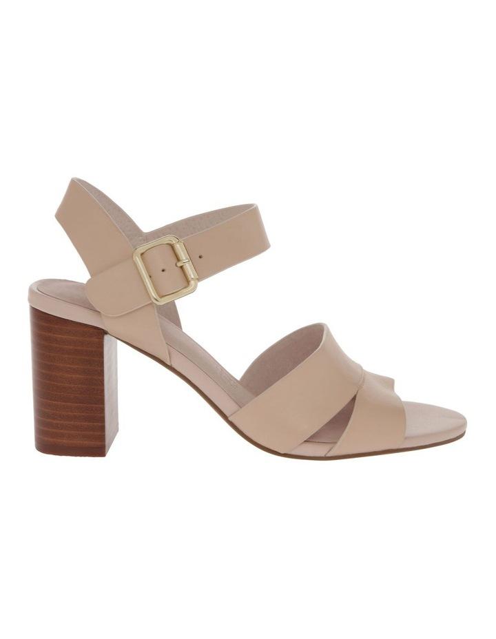 Ava Beige Leather Sandal image 1