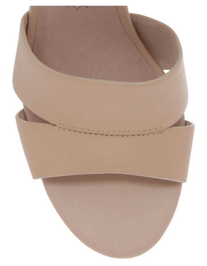 Ava Beige Leather Sandal image 2
