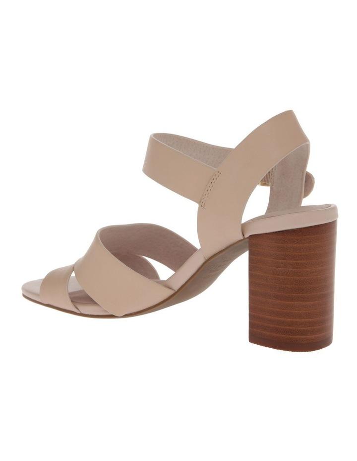 Ava Beige Leather Sandal image 3