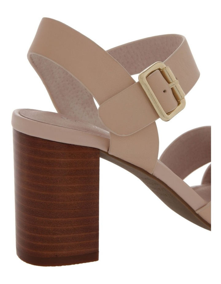 Ava Beige Leather Sandal image 4