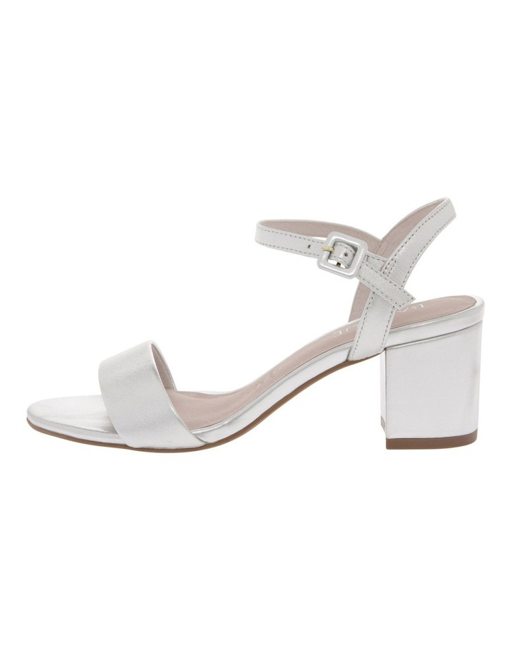 Roma Silver Leather Sandal image 1