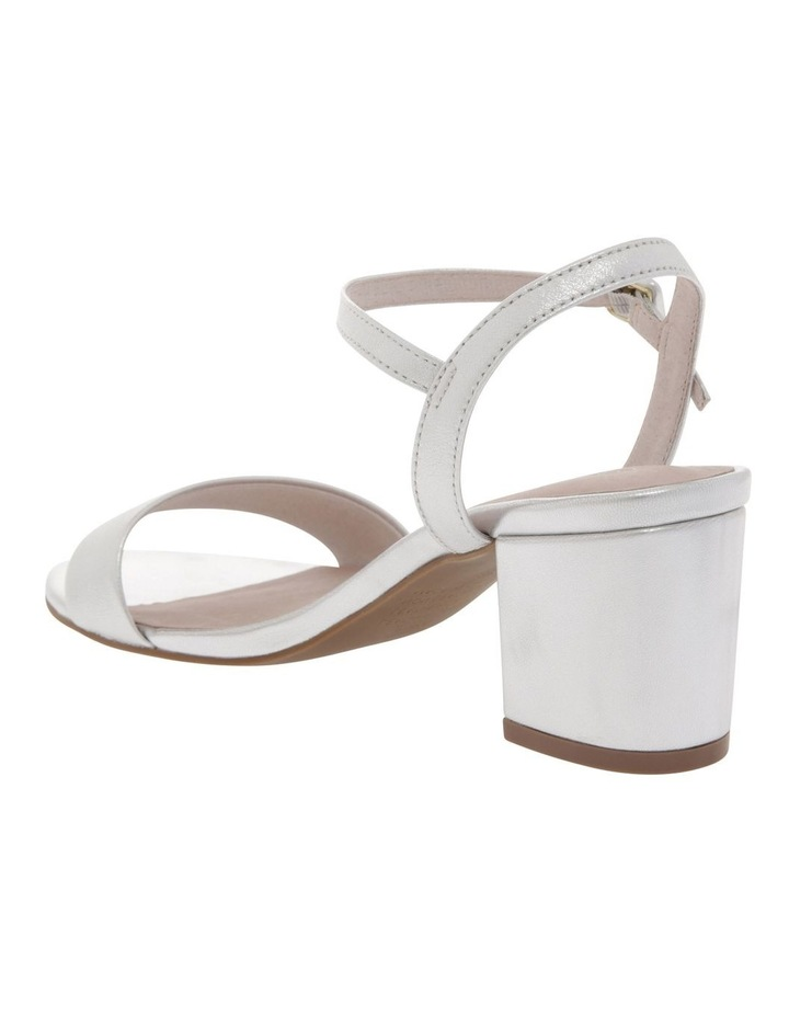 Roma Silver Leather Sandal image 3