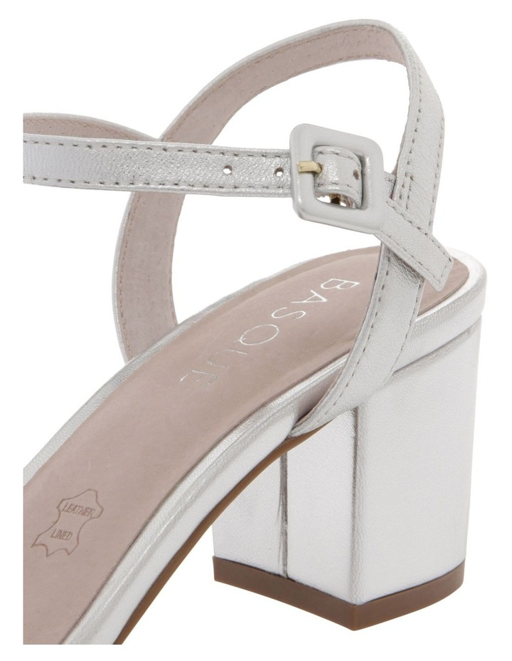 Roma Silver Leather Sandal image 4