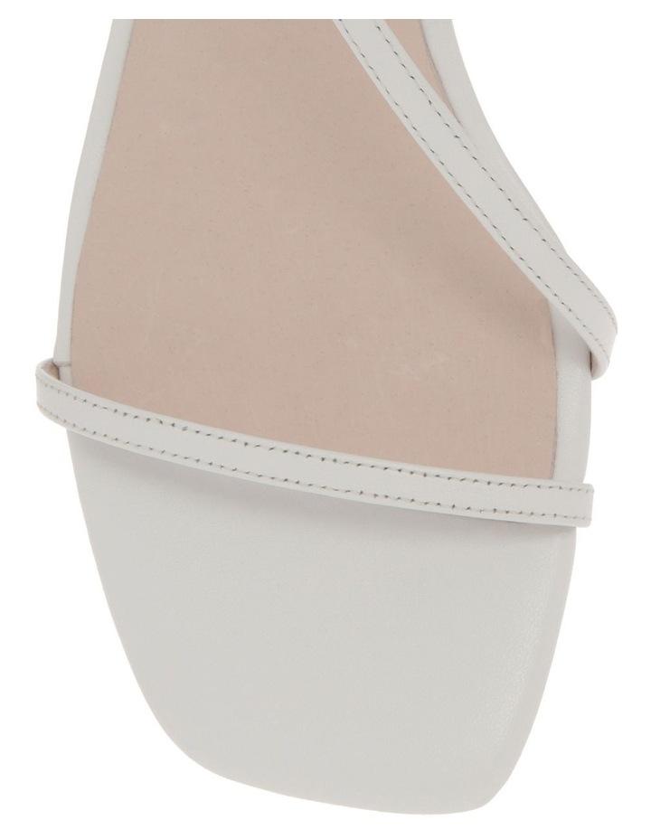 Harper White Leather Sandal image 2