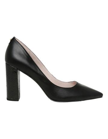 696ff31f246 Basque Nicolette Black Leather Heel