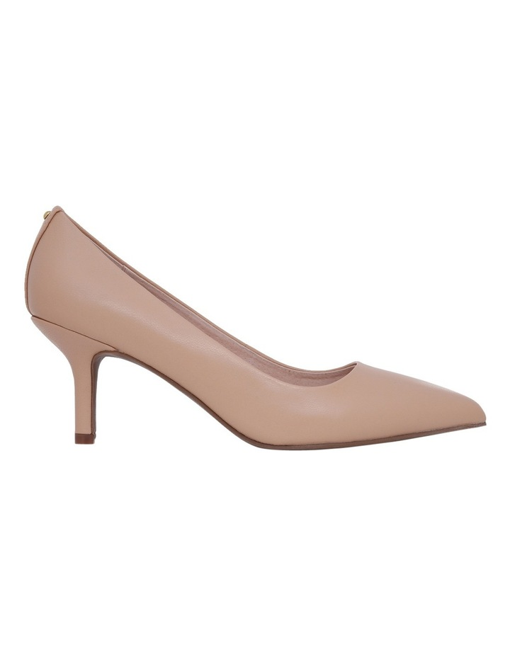 Elizabeth Blush Leather Heel image 1