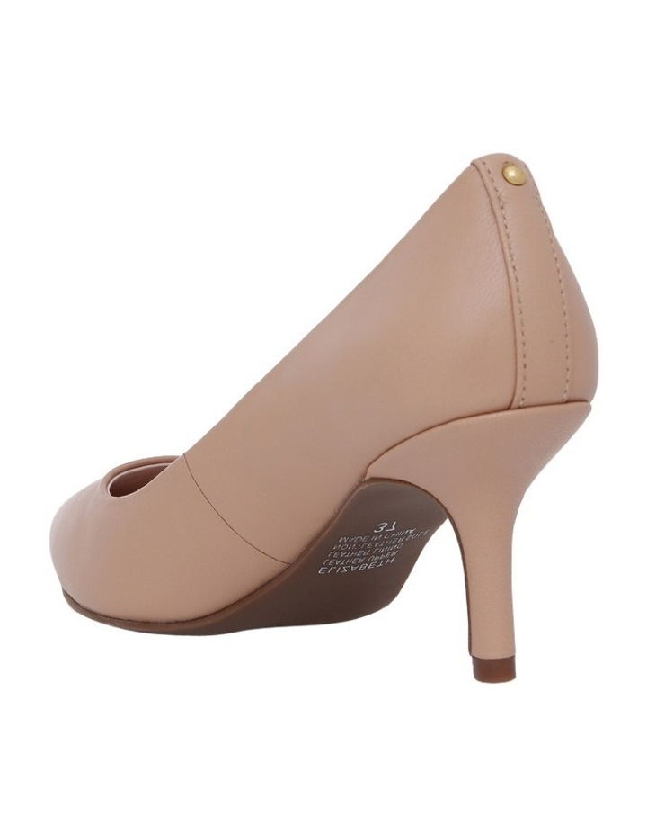 Elizabeth Blush Leather Heel image 2