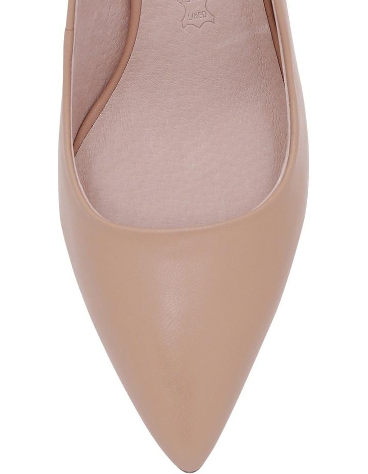 Elizabeth Blush Leather Heel image 3