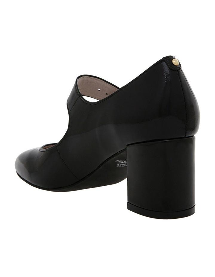 Florence Black Patent Leather Heel image 2