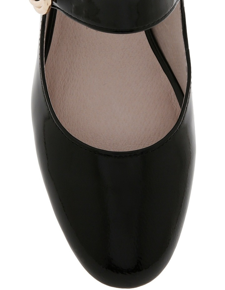 Florence Black Patent Leather Heel image 3