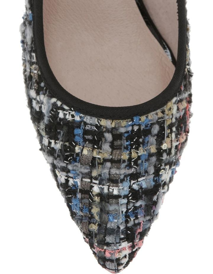 Elizabeth Blue Boucle Heel image 3
