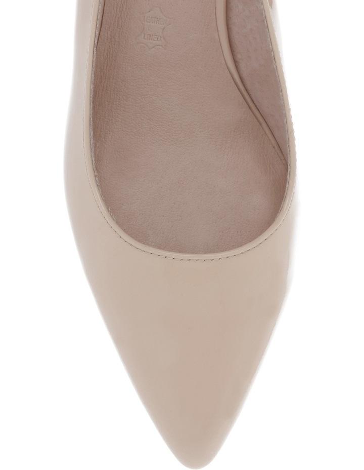 Eleanor Nude Patent Shoe image 3