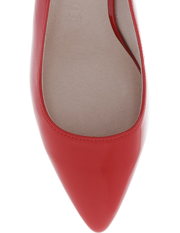 Eleanor Red Patent Shoe image 3